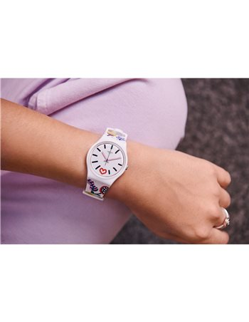 Reloj Swatch WAVE PATH SUON713
