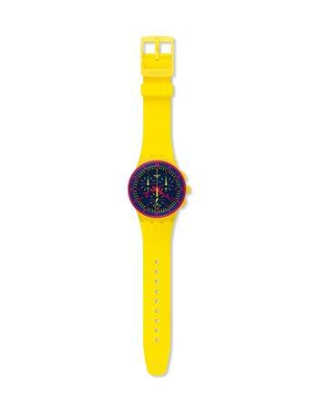 Reloj Swatch BLUE SPARKLE YLS221